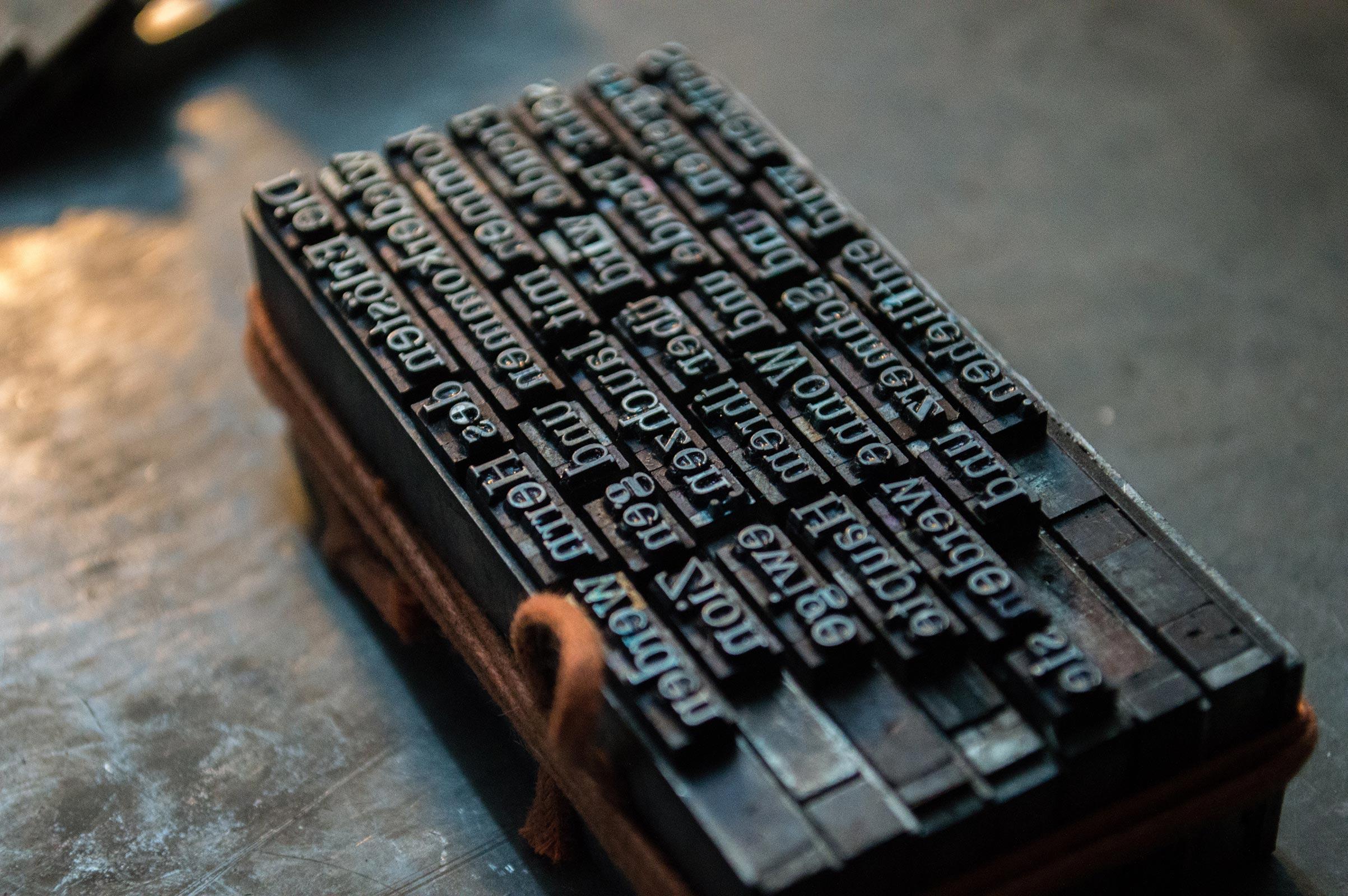 Helt ny maskine til nem tryk og mærkning af papir og poser